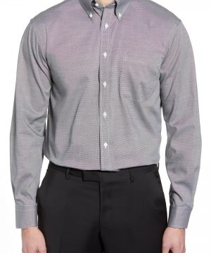 Men's Nordstrom Men's Shop Traditional Fit Non-Iron Dress Shirt