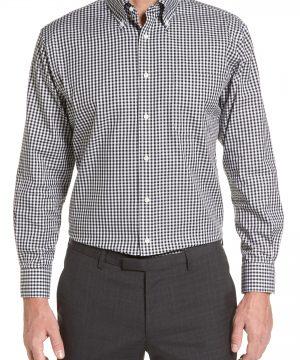 Men's Nordstrom Men's Shop Traditional Fit Non-Iron Gingham Dress Shirt
