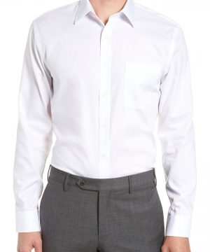 Men's Nordstrom Men's Shop Trim Fit Non-Iron Dress Shirt