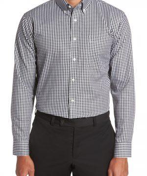 Men's Nordstrom Men's Shop Trim Fit Non-Iron Gingham Dress Shirt
