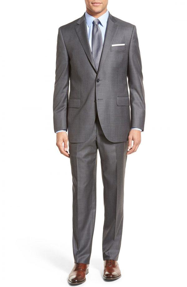Men's Peter Millar Classic Fit Solid Wool Suit