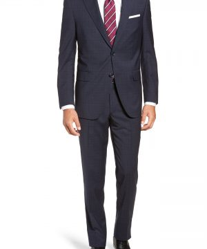 Men's Peter Millar Flynn Classic Fit Plaid Wool Suit