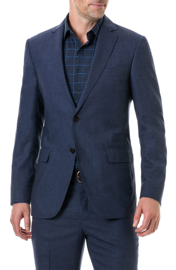 Men's Rodd & Gunn Egmont Village Regular Fit Wool Travel Blazer