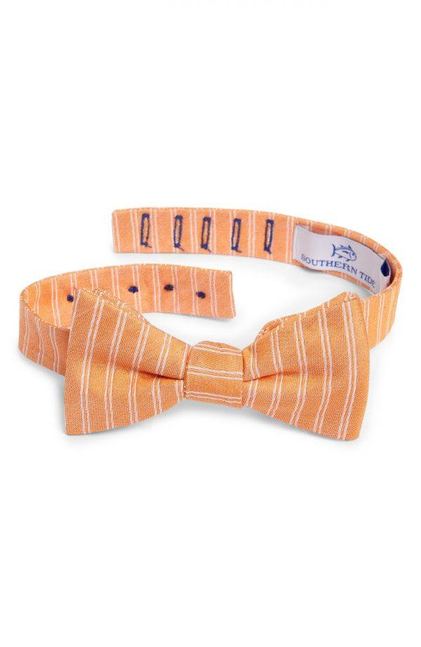Men's Southern Tide Atlantic Horizontal Cotton & Silk Bow Tie