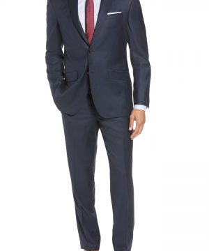 Men's Ted Baker London Jones Trim Fit Solid Wool Suit
