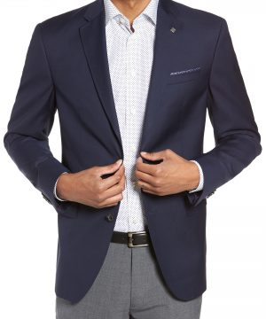 Men's Ted Baker London Trevi Trim Fit Wool Blazer