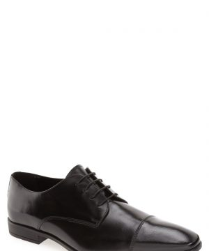 Men's The Rail 'Stark' Cap Toe Derby, Size 10-10.5US / 44EU - Black