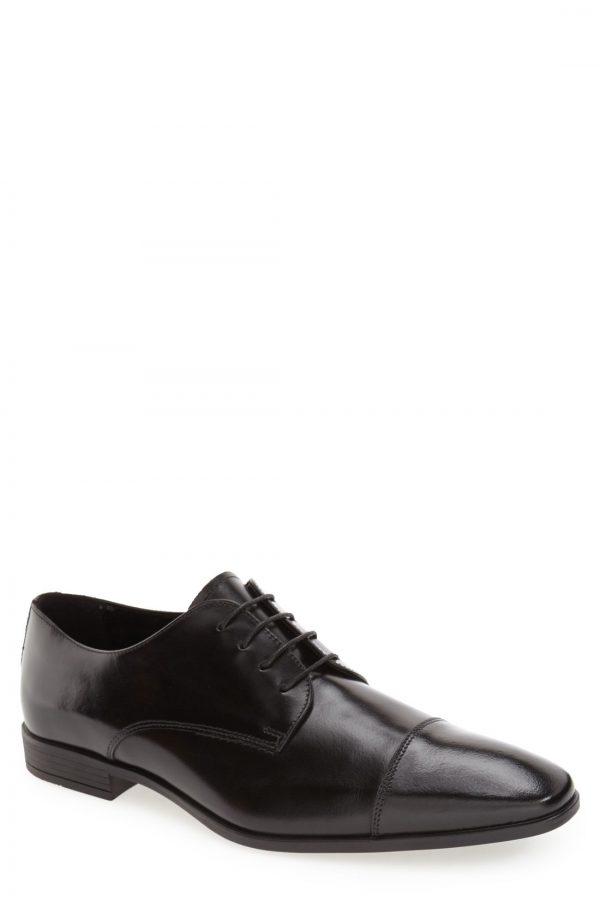 Men's The Rail 'Stark' Cap Toe Derby, Size 10-10.5US / 44EU - Black