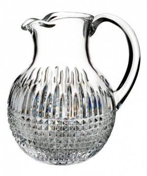 Waterford Lismore Diamond Encore Lead Crystal Pitcher