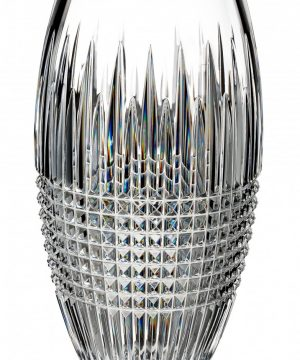 Waterford Lismore Diamond Encore Lead Crystal Vase