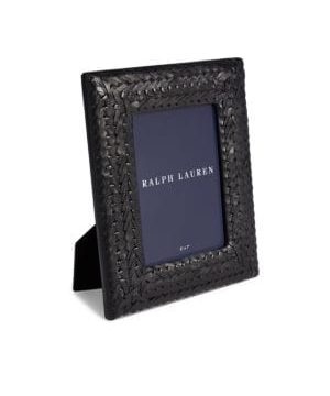 Adrienne Leather Picture Frame