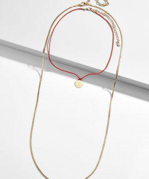 Alexis Engravable Necklace Set
