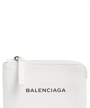 Balenciaga Everyday Leather Pouch -
