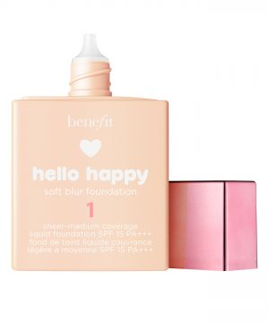 Benefit Hello Happy Soft Blur Foundation, Size 1 oz - 1 Fair / Cool
