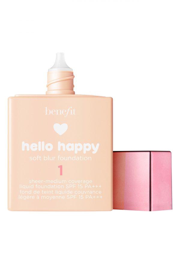 Benefit Hello Happy Soft Blur Foundation, Size 1 oz - 1 Fair / Cool