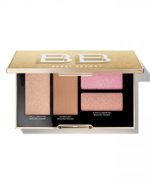 Bobbi Brown Take It To Glow Highlight & Bronzing Powder Palette - No Color