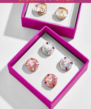 Bree Glass Stud Earrings