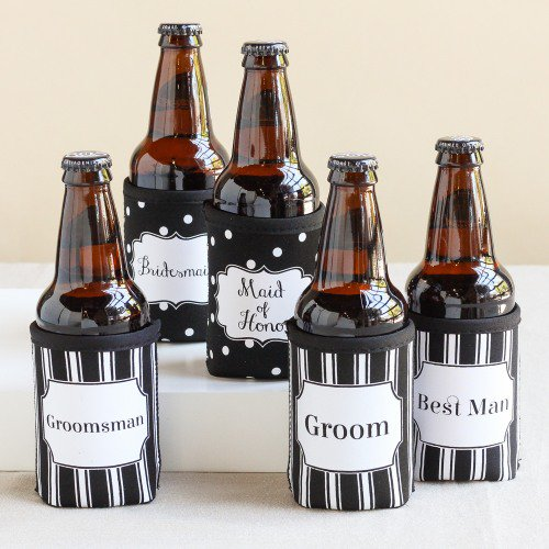 Bridal Party Can Sleeve