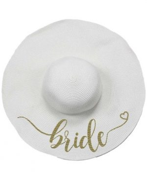 Bridal Saying Floppy Hat