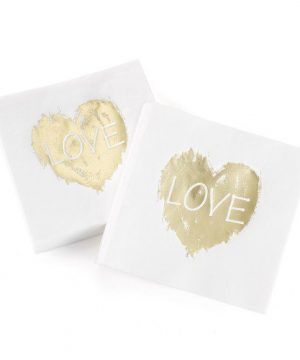 Brush of Love Napkins