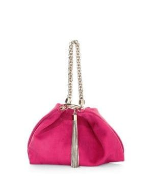Callie Suede Clutch