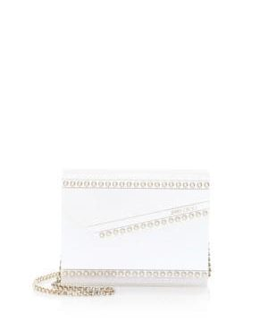 Candy Pearl-Embellished Convertible Clutch