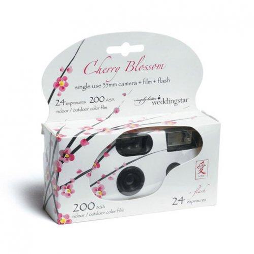 Cherry Blossom Disposable Camera