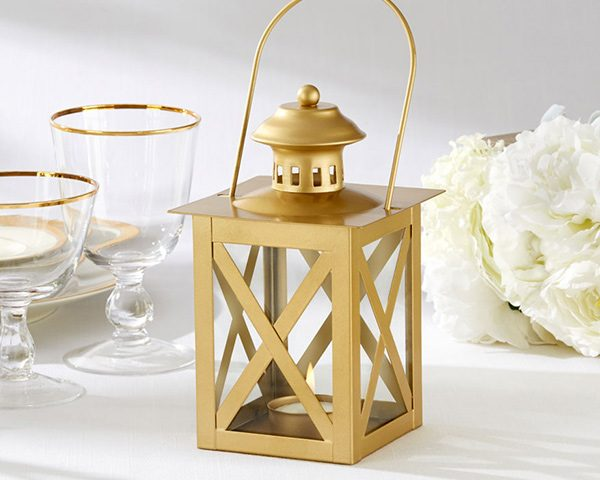 Classic Gold Lantern