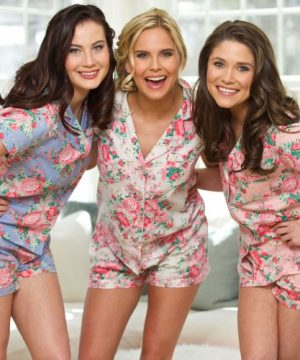 Cotton Floral Pajama Set