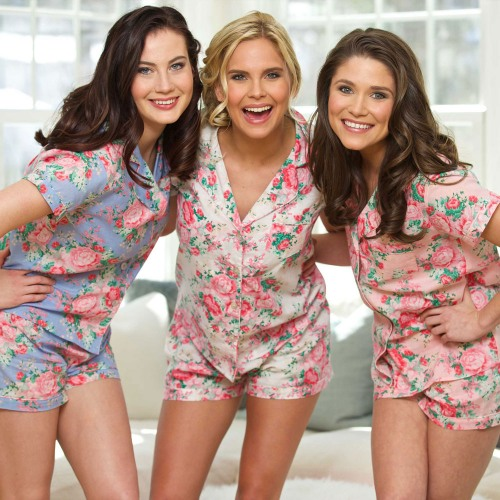 Cotton Floral Pajama Set