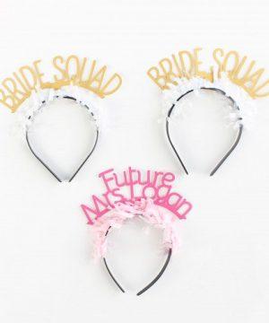 Custom Bridal Headband Pack
