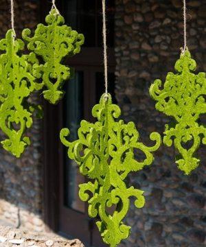 Decorative Moss Chandelier