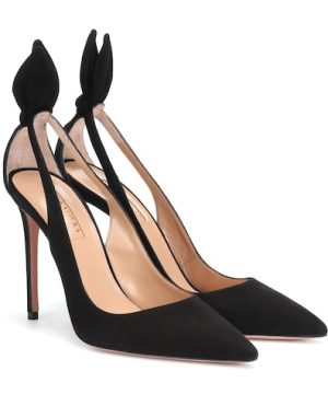 Deneuve 105 suede pumps