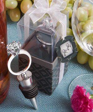 Diamond Ring Bottle Stopper