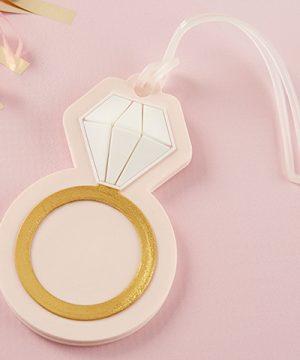 Diamond Ring Luggage Tag