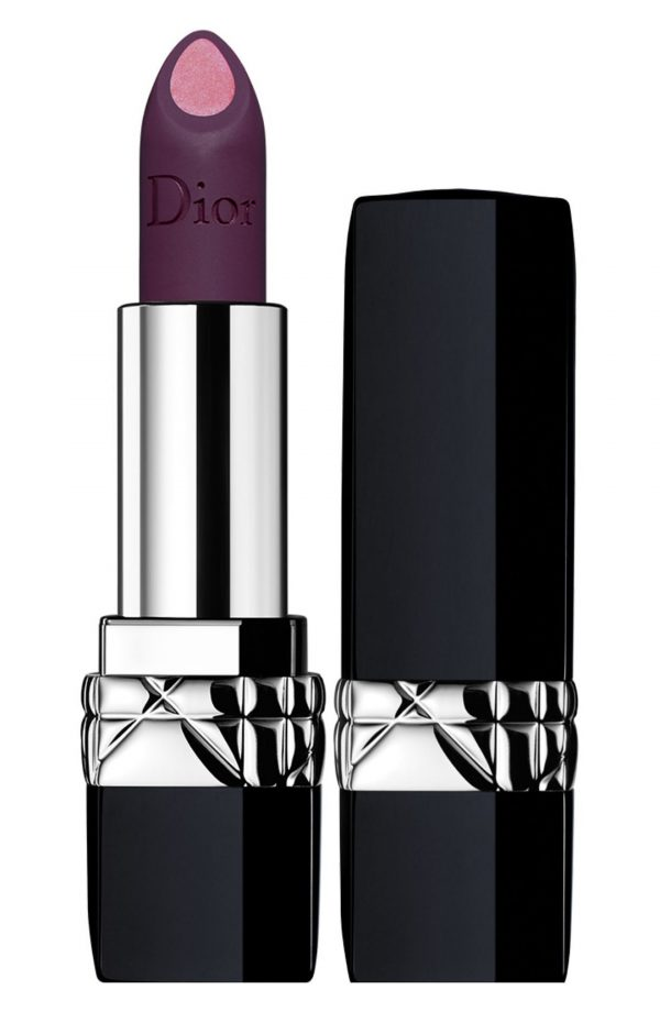 Dior Rouge Dior Double Rouge Matte Metal Colour & Couture Contour Lipstick - 992 Poison Purple