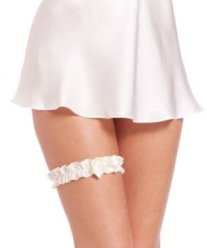 Embellished Bow Garter