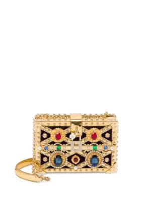 Embellished Convertible Clutch