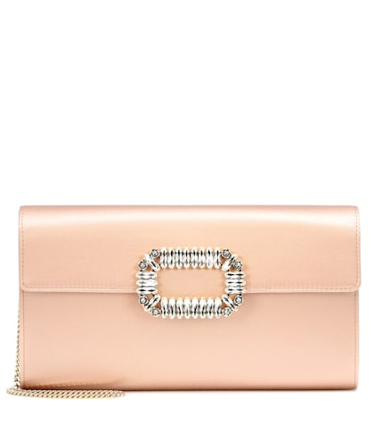 Evening Envelope satin clutch