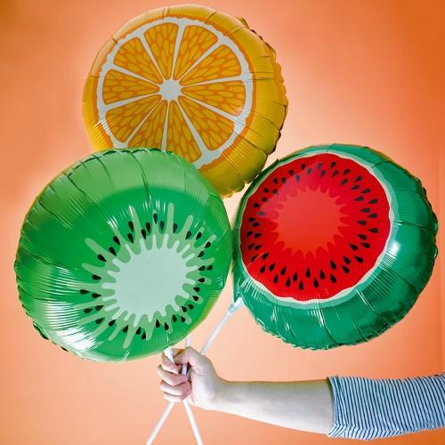 Foil Fruit Balloons