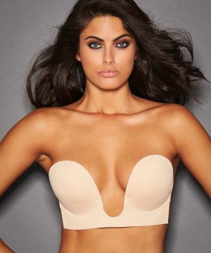 Frederick's of Hollywood Deep Plunge Adhesive Bra