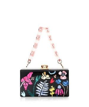 Garden Delight Acrylic Box Bag