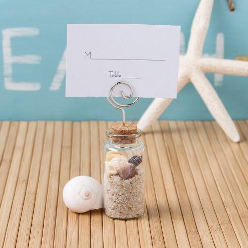 Glass Jar Place Card Holder
