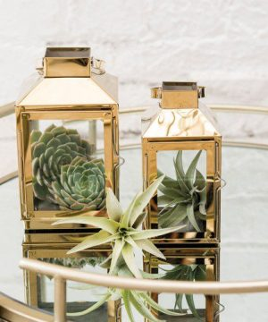 Gold Decorative Candle Lantern