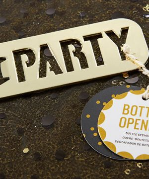 Gold Party Bottle Opener