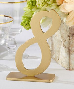 """Good As Gold"" Classic Table Numbers (7-12)"