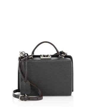 Grace Small Leather Box Crossbody Bag