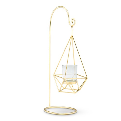 Hanging Geo Candle Holder