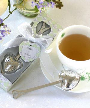 "Heart Shaped ""Tea Time"" Tea Infuser in Gift Box"