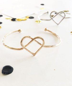 Heart Tie The Knot Bracelet